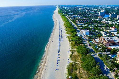 skyview of Delray Beach