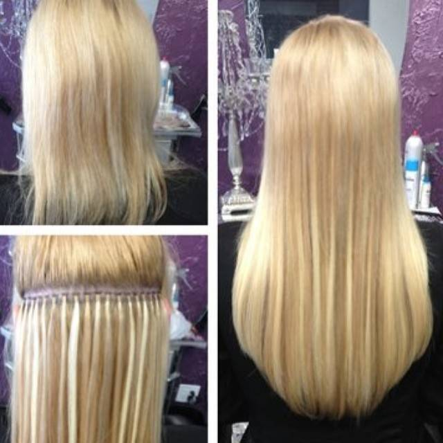 example of hair extension micro links