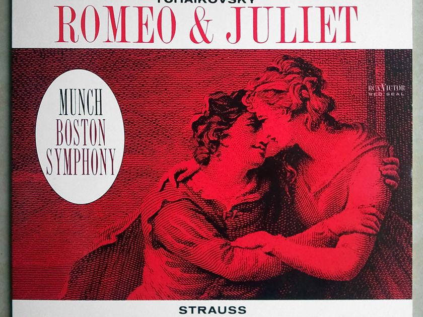180g Classic Records/Munch/Tchaikovsky - Romeo & Juliet, Strauss Till Eulenspiegel / Audiophile / NM