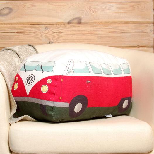 Минивен. Подушка в виде автобуса