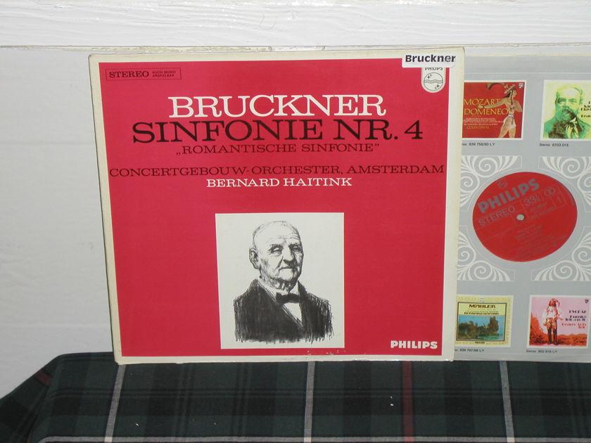 Haitink/COA - Bruckner Nr.4 Philips Import pressing 835 ly