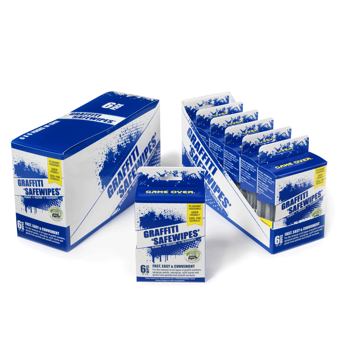 graffiti remover safewipes 6 pack
