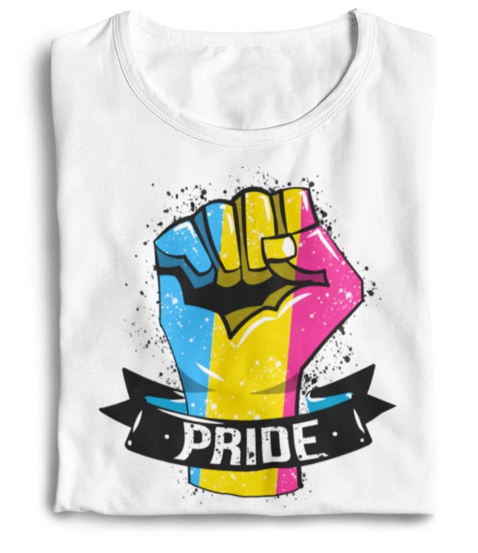 pansexual flag shirt the rainbow's brand