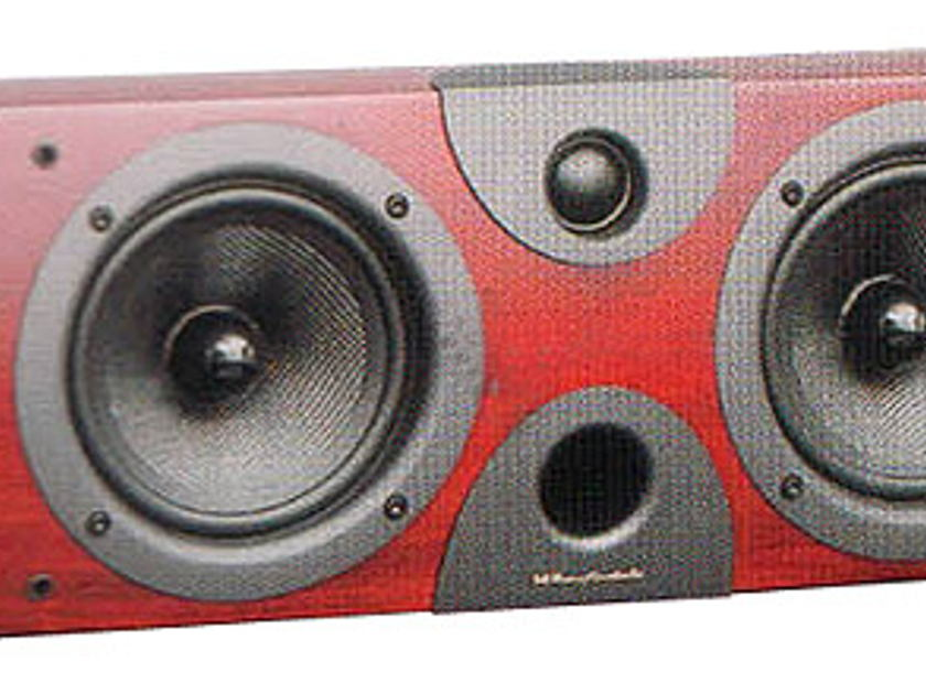 WHARFEDALE EVO2-Centre Speaker (Rosewood Piano): New-In-Box;  Full Warranty; 60% Off