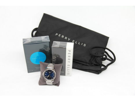 Perry Ellis Timepiece and Fragrances