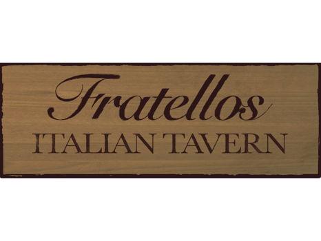Fratellos Italian Tavern $25 Gift Certificate