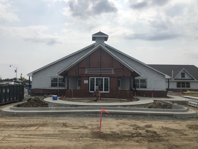The Primrose School at Grand Park is nearing completion!