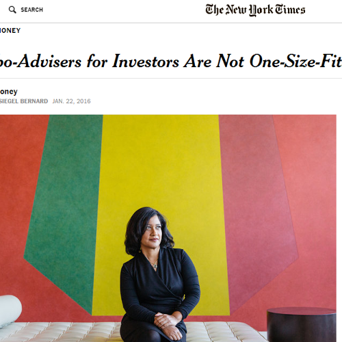 Just a few days before Hassan gave Schwab her walking papers, the New York Times featured her in its article on robos.