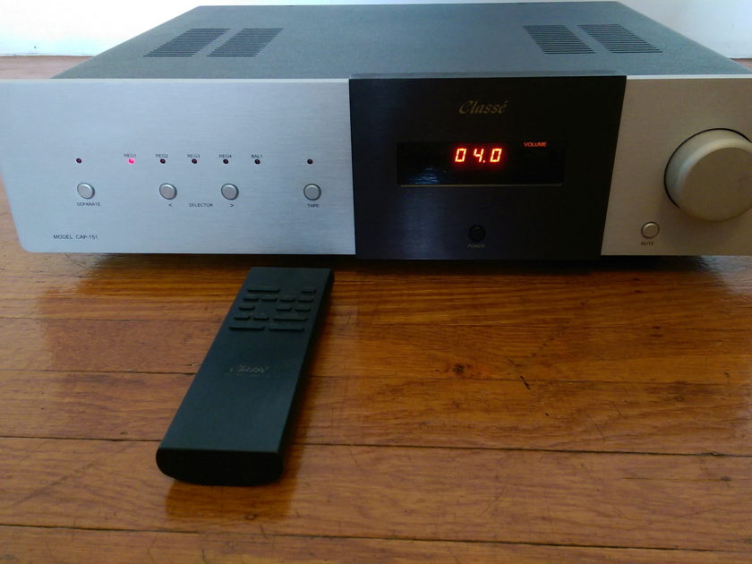 Classe CAP-151 Integrated Amp with Remote - Excellent