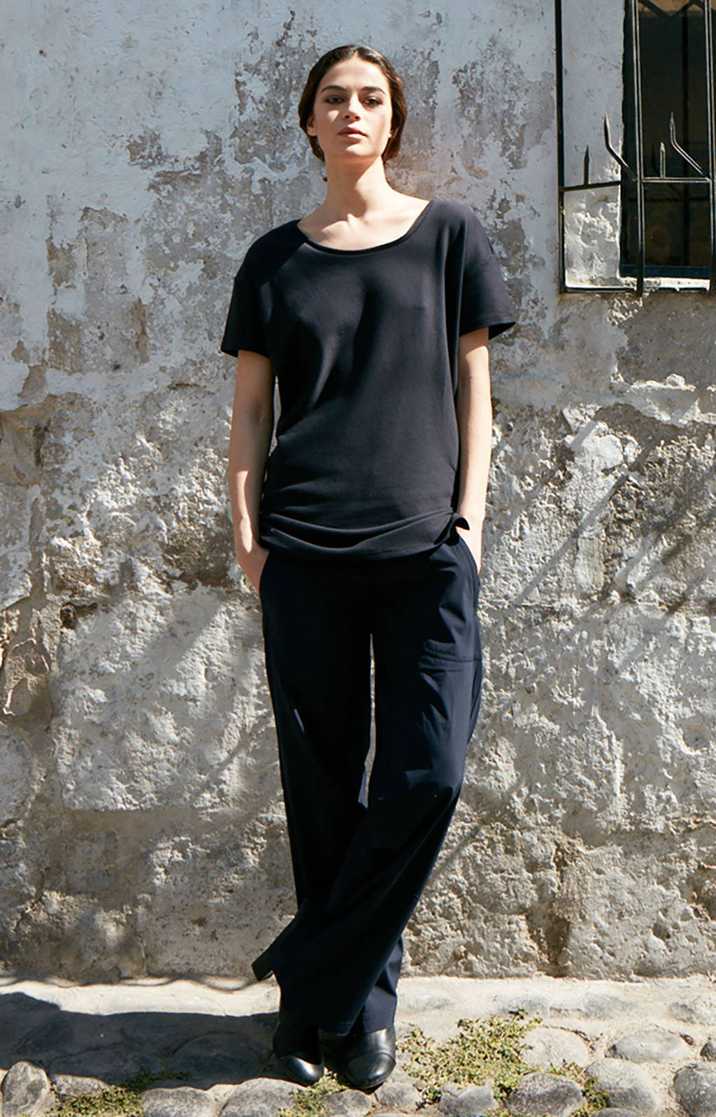 CONSCIOUS - INSANELY COMFY LONG HAUL FLIGHT PANT NAVY BLUE