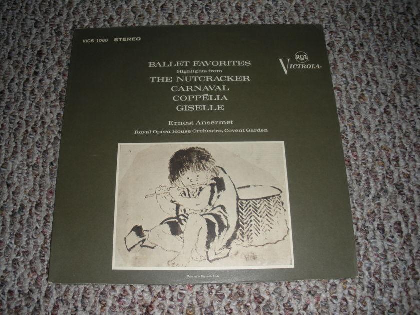*RARE* BALLET FAVORITES - NUTCRACKER CARNAVAL COPPELIA GISELLE RCA VICS 1066 STEREO