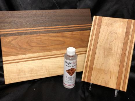 Maple-Cherry-Walnut Cutting Board Set