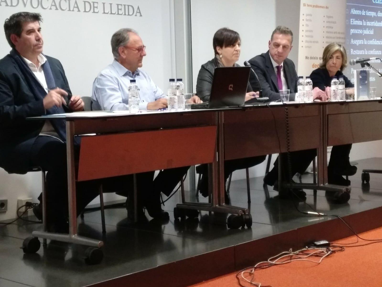 Xavier Segura. Charla dia europeo mediación
