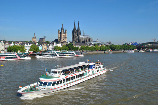 Вечерний круиз по Рейну