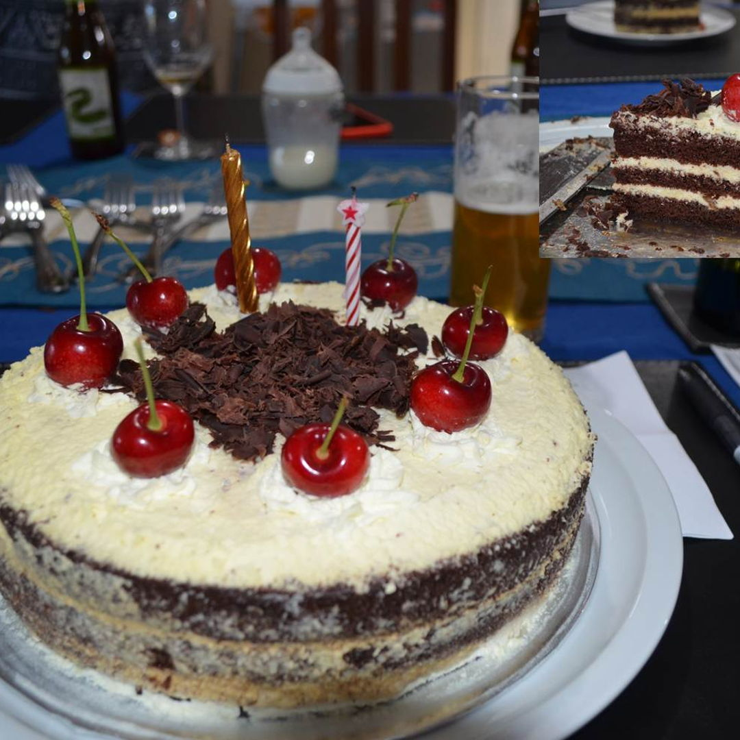 Date: 26 Dec 2019 (Thu) 24th Dessert: Black Forest Cake [162] [135.9%] [Score: 10.0] My birthday cake. Two judges gave this a 10.0. I wouldn't argue on that! :)