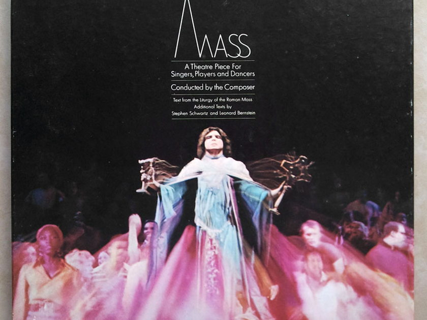 COLUMBIA | BERNSTEIN - conducts his MASS / 2-LP / NM