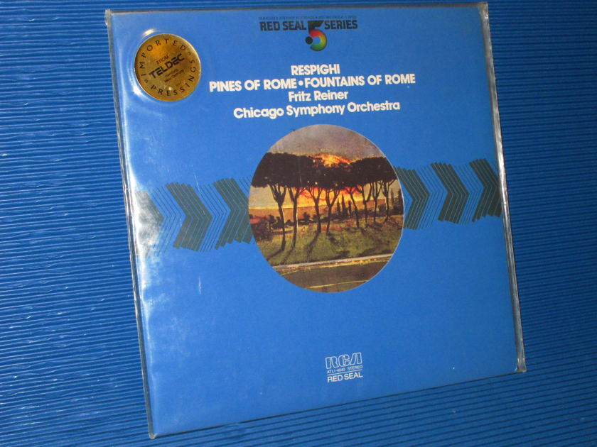 "RESPIGHI/Reiner - - ""Pines of Rome"" - RCA .5 Series 1981 Sealed"