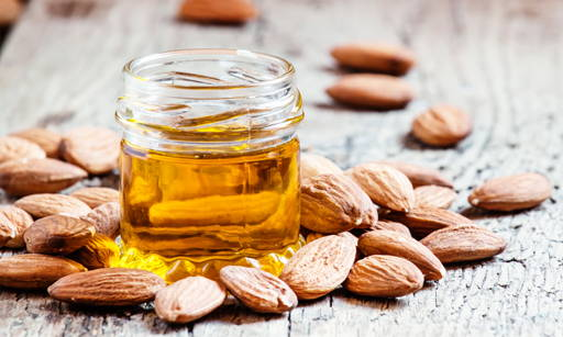 Sweet Almond Oil  Obtained from almond tree seeds, a valued ingredient of care cosmetics