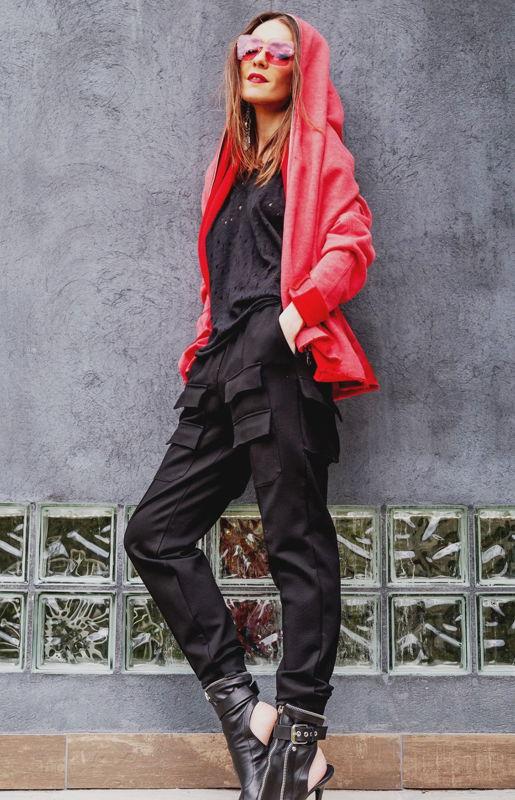 Красная худи HooliGang