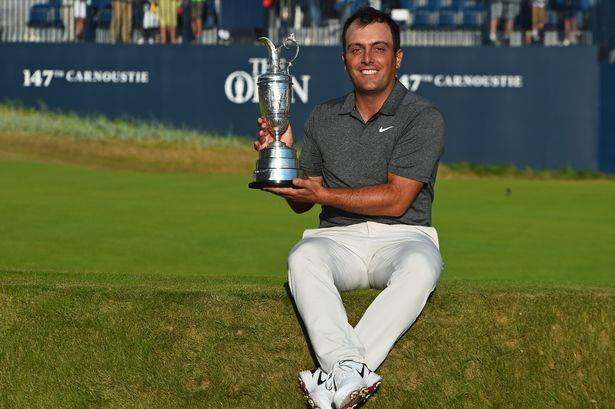 Francesco Molinari is the defending champion at the Open 2019