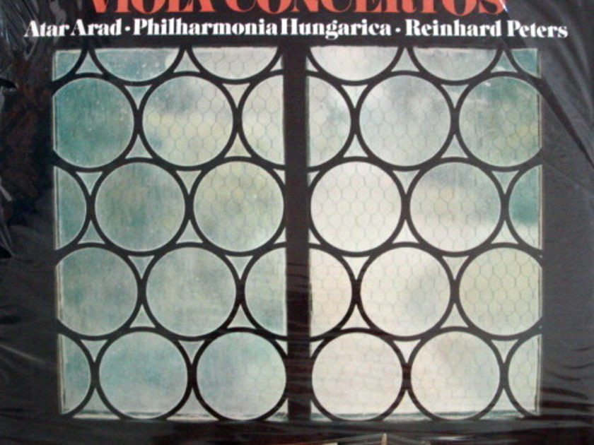 ★Sealed★ Telefunken / - ARAD-PETERS, Paganini-Stamitz Viola Concertos!