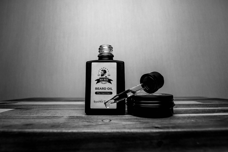The Hard Man Beard balm & Oil Combo