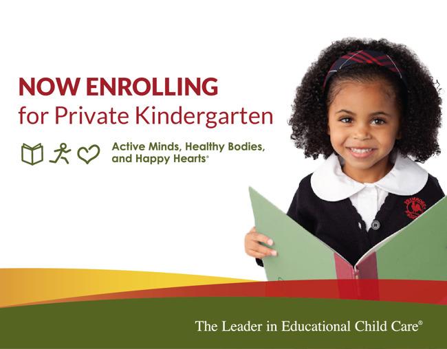 Kindergarten enrolling