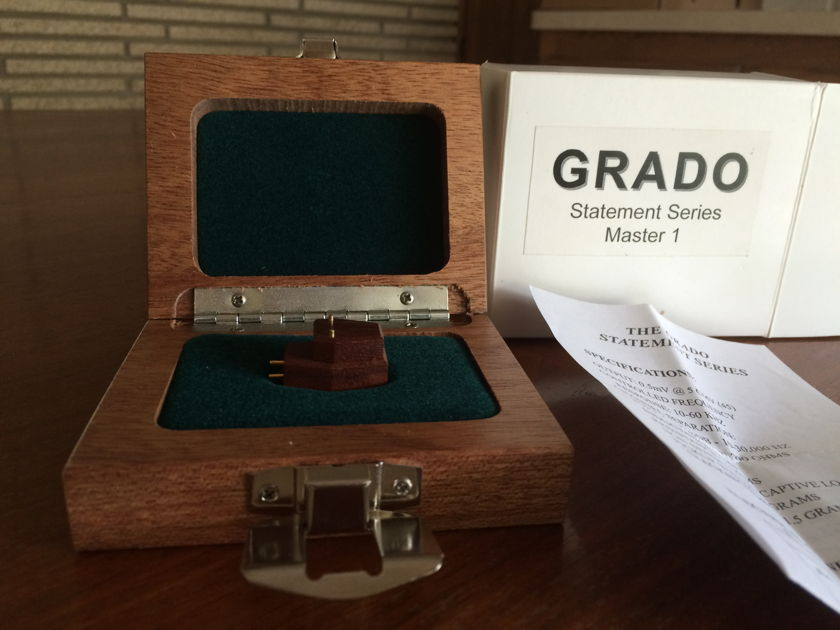 Grado Statement Series Master 1 Cartridge Excellent condition