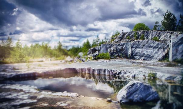 Новая Карелия: Рускеала + город викингов (2 дня)