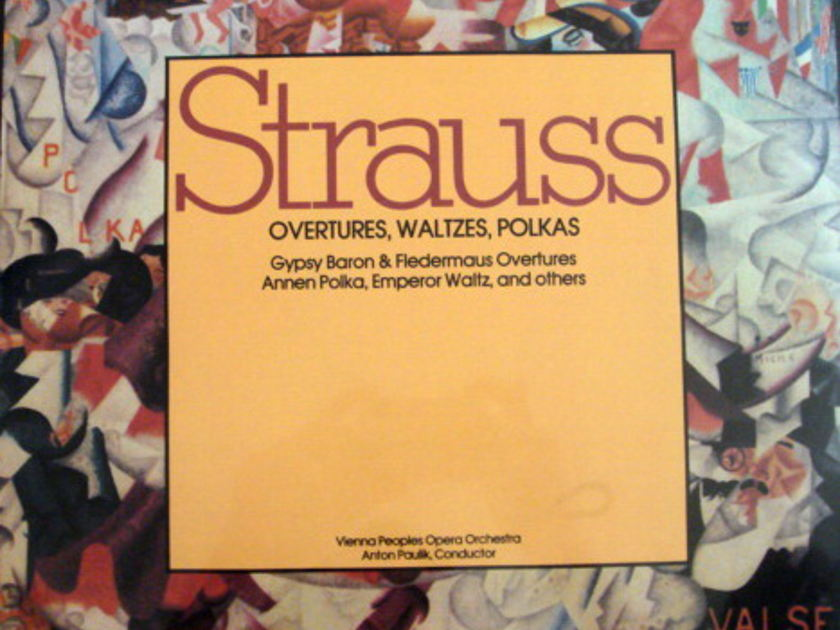 ★Sealed★ Summit / - PAULIK, Strauss Overtures, Waltzes & Polkas!