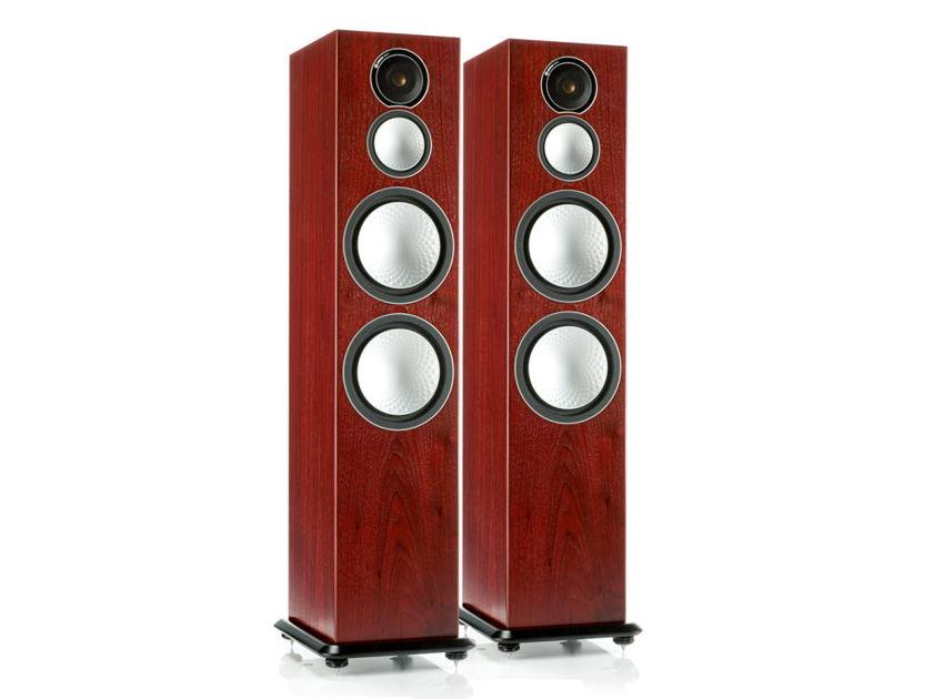MONITOR AUDIO Silver 10 Loudspeakers (Rosenut): Excellent Condition Demo; 1 Yr. Warranty; 40% Off
