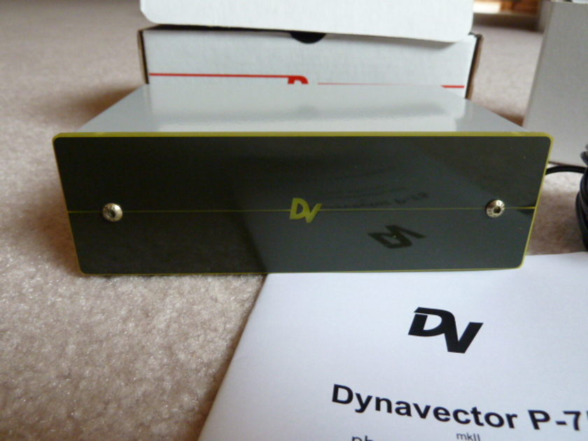 Dynavector P75 MKII Phono Stage