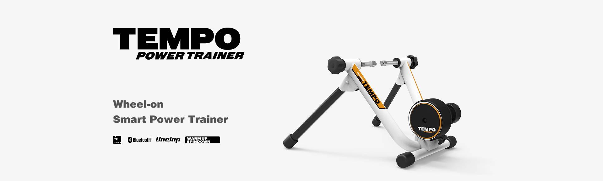 wheel-on smart power trainer