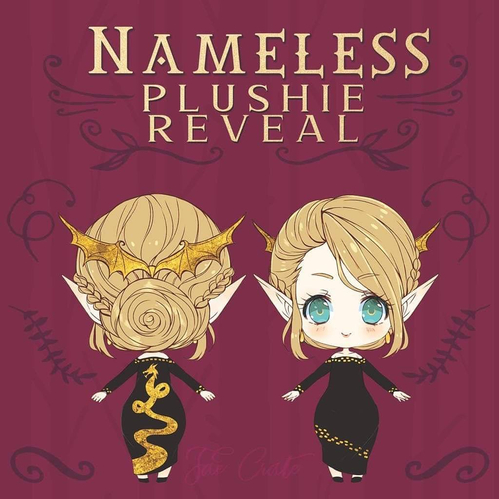 Nameless Plushie Reveal featuring Aelin
