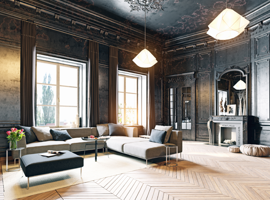 6 idées de décoration modernes pour une maison ancienne