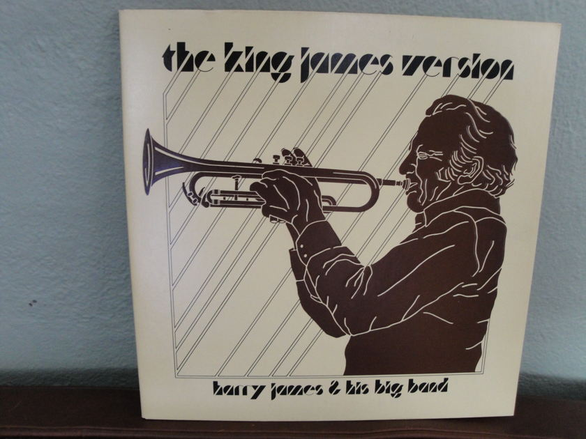 Harry James and his big band - The King James version Sheffield Lab Direct Disc LP
