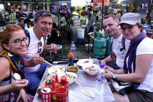 Secret Street Food Tour off the Beaten Track