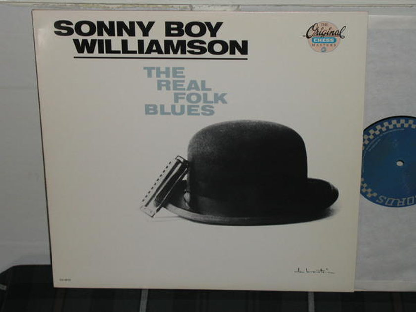 Sonny Boy Williamson - The Real Folk Blues (Pics) Chess ch-9272