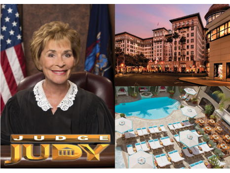 """LA Trip to """"Family Court"""" with Judge Judy"""