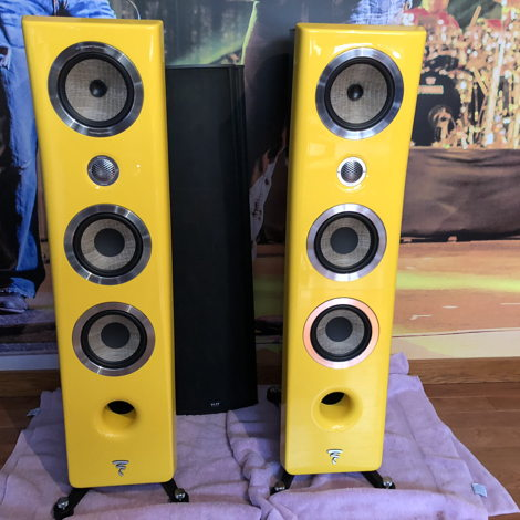 Focal Kanta Yellow Front