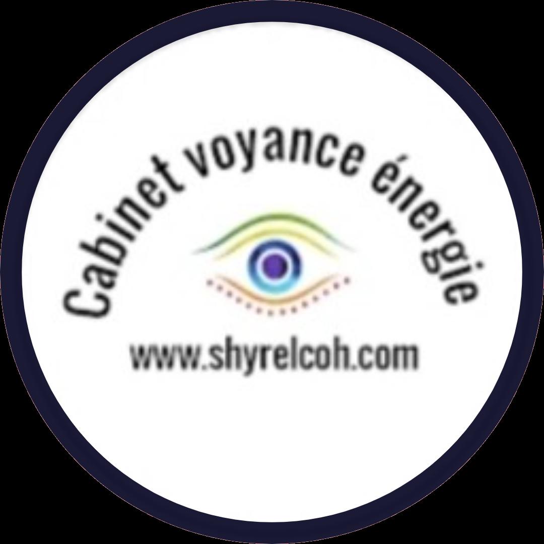 Logo cabinet de voyance energie rond