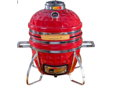 Cadet Kamado Charcoal Grill (Crimson Red)