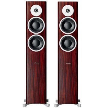 Floorstanding Loudspeakers (Rosewood):