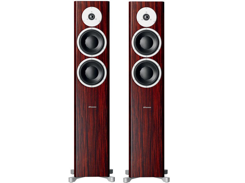 Dynaudio Focus 400 XD  Floorstanding Loudspeakers (Rosewood): NEW-In-Box,  Full Warranty; 55% Off