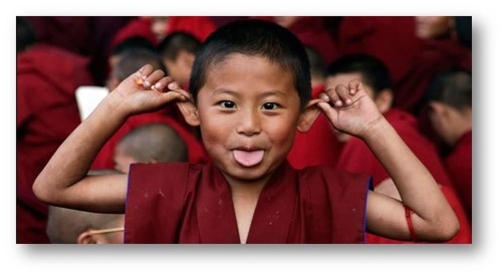 Enfant du Bhoutan