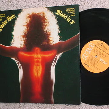 LP Record broadway cast of hair