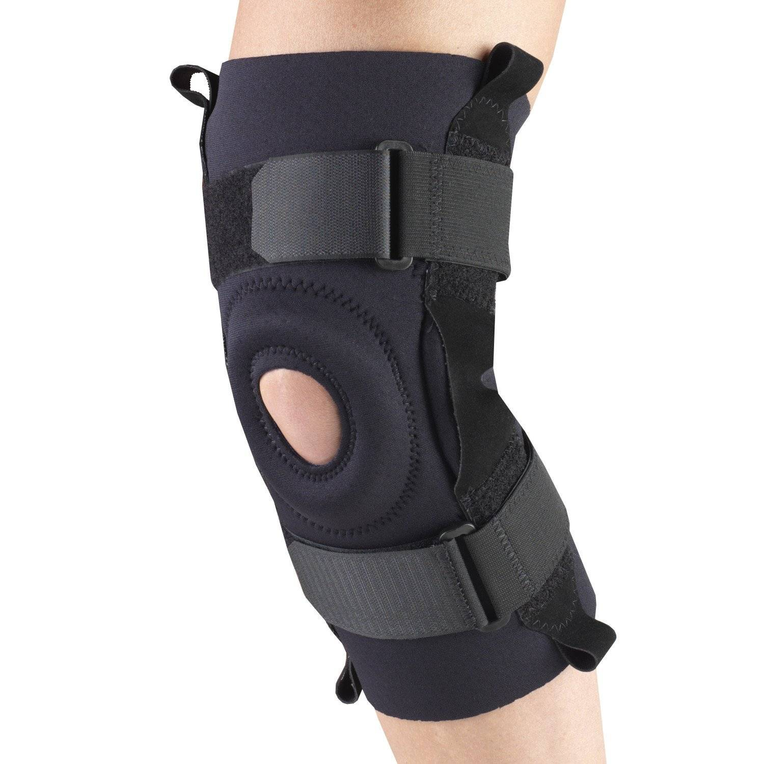 0310 / NEOPRENE KNEE STABILIZER - HINGED BARS