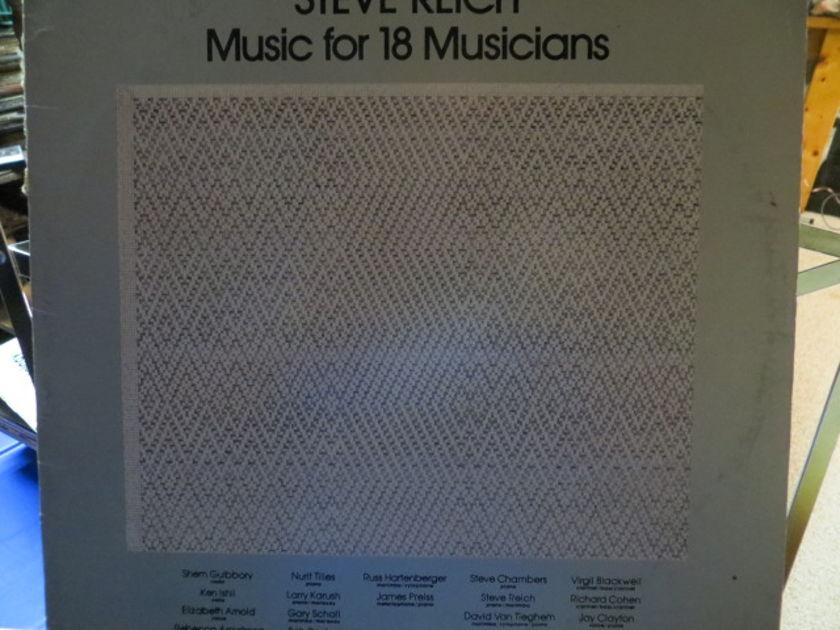 STEVE REICH - MUSIC FOR 18 MUSICIANS