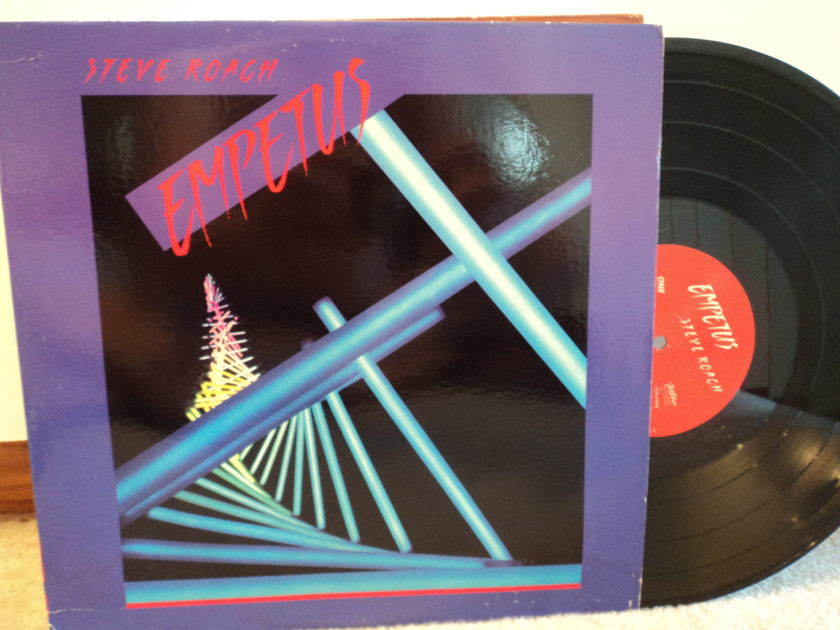 Steve Roach - EMPETUS - New Age/Space Music NM 1st press rare record