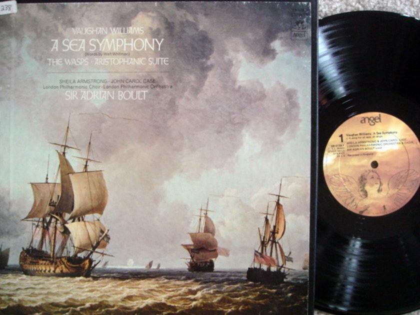 EMI Angel / BOULT,  - Vaughan Williams A Sea Symphony, MINT, 2LP Box Set!